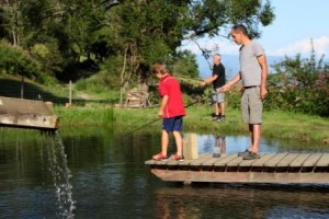 Angeln am Teich